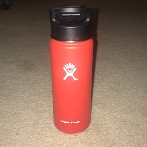Perfect condition, red hydro flask